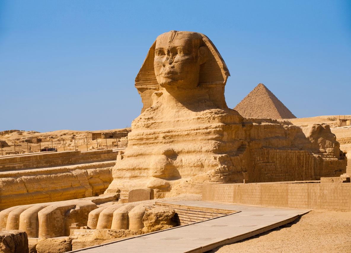 Giza Pyramid, Cairo, Egypt