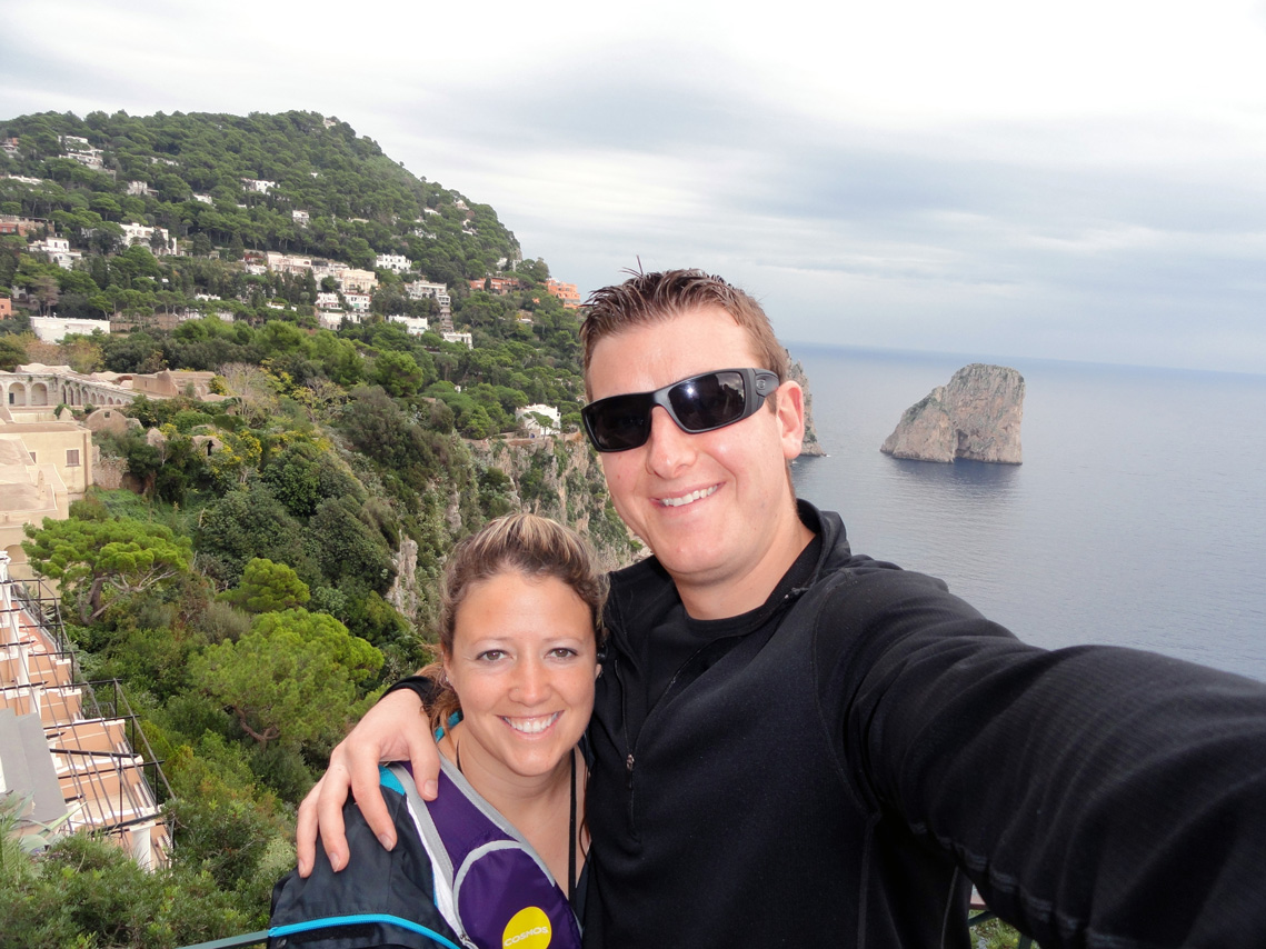 Selfie in Capri!