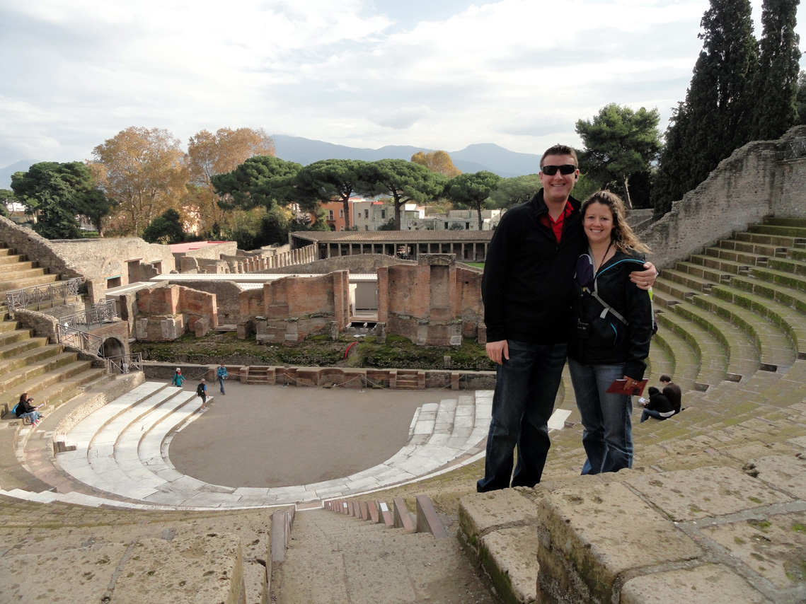 One last shot in Pompeii