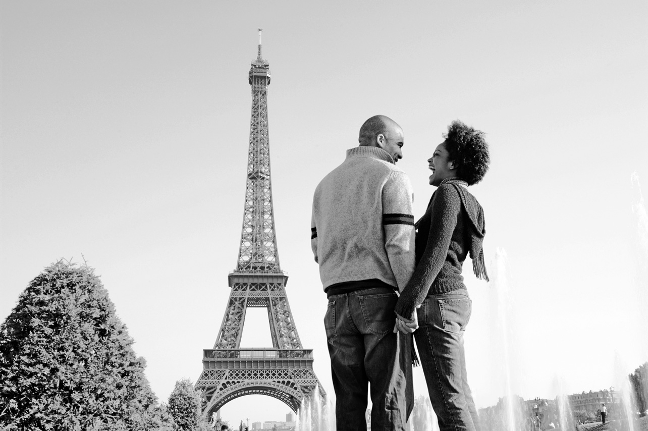 Enjoy picturesque Paris with a loved one.