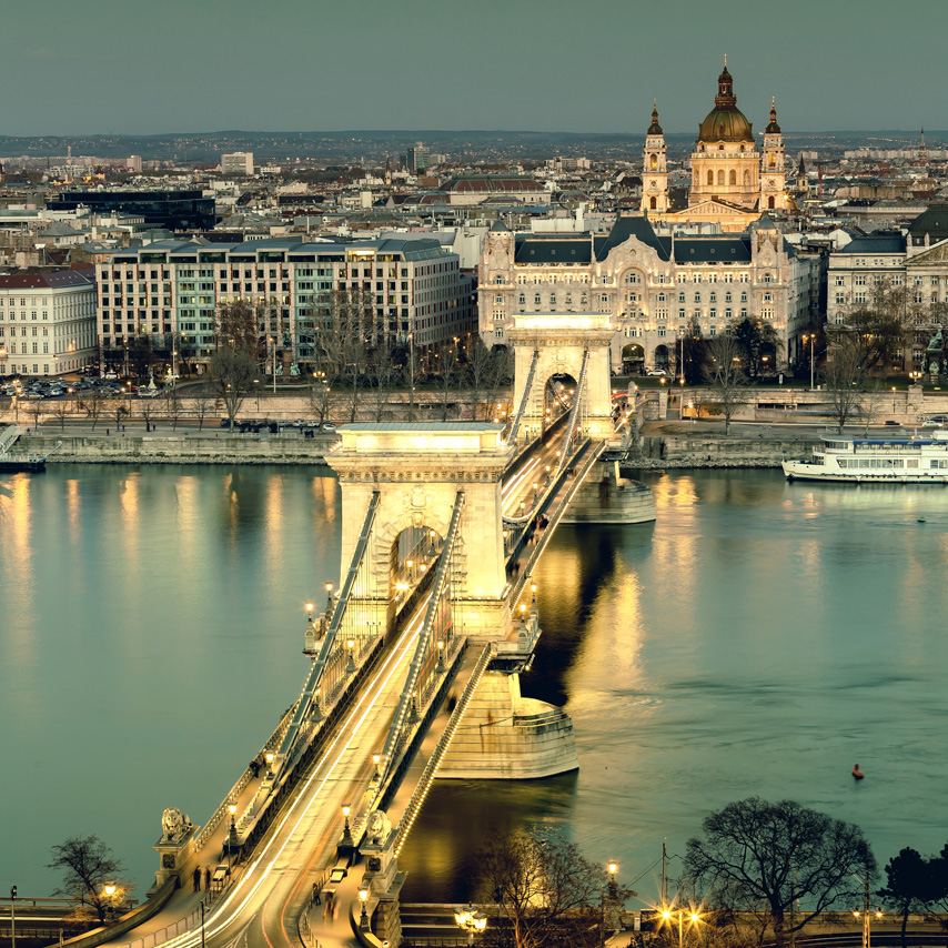 See the Chain Bridge like you've never seen it before.