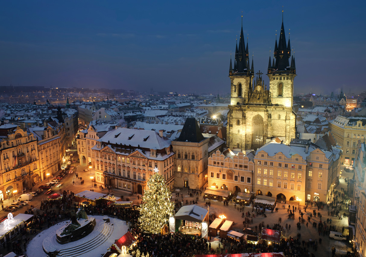 Get your Christmas presents here, in Prague.