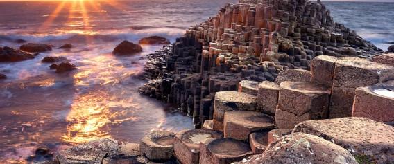 Ireland_Giants-Causeway_Sunset_shutterstock_234549214