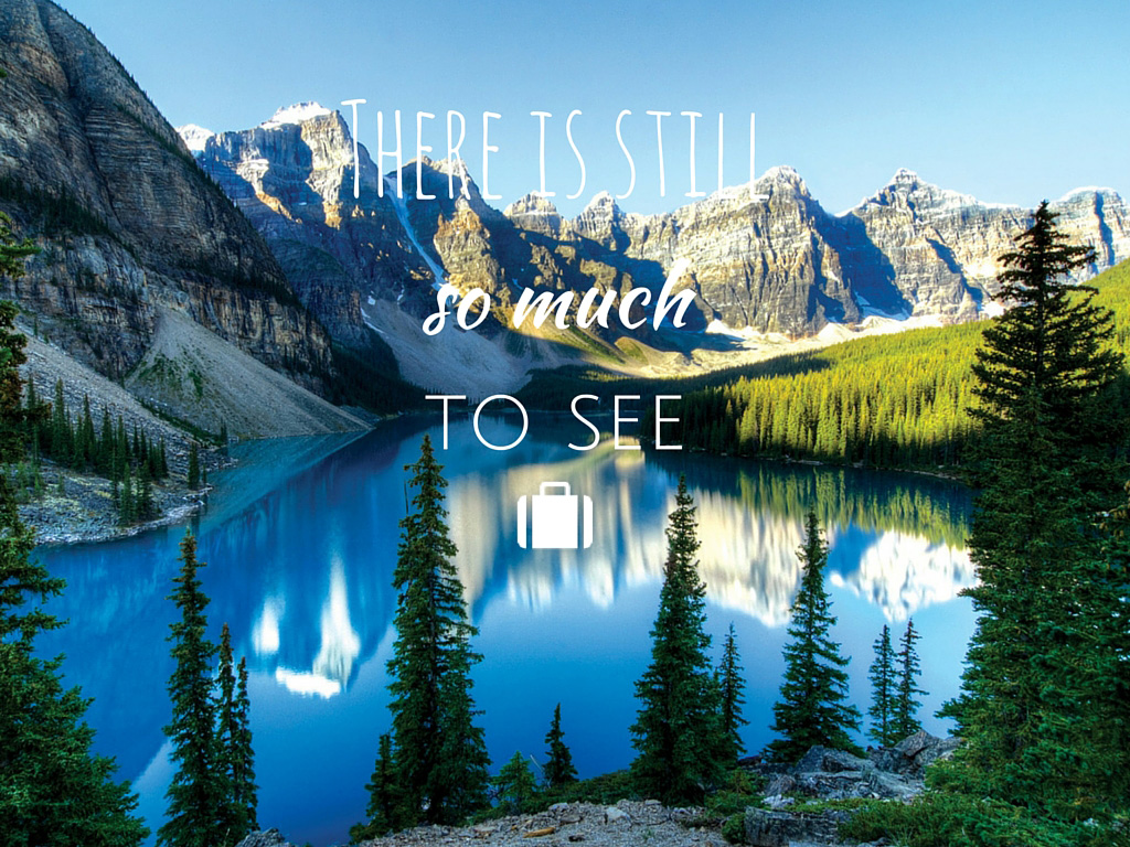 Travel Quote Banff Moraine Lake
