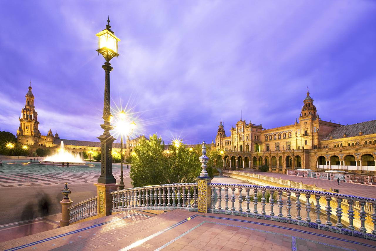 Plaza d'España, Seville